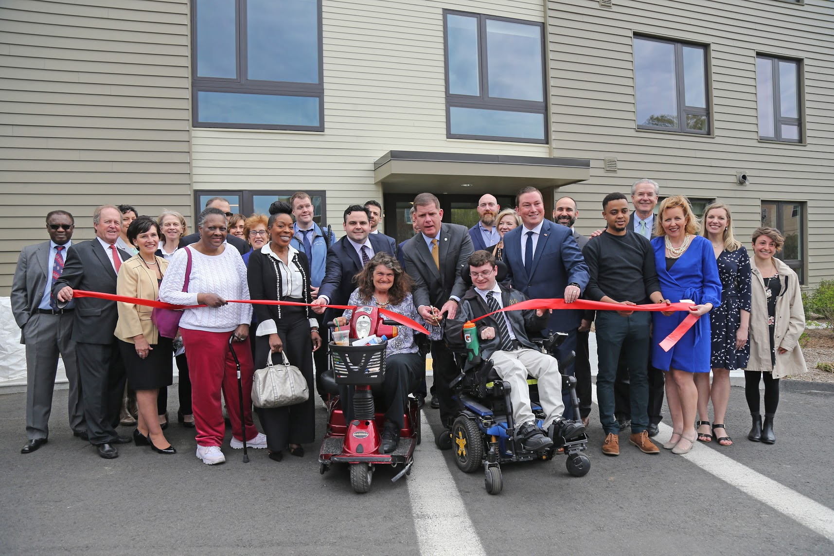 Harmon Apartments Ribbon Cutting Celebration