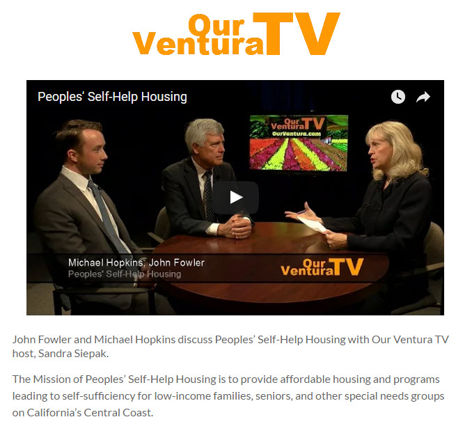 Peoples' Self-Help Housing - Our Ventura TV