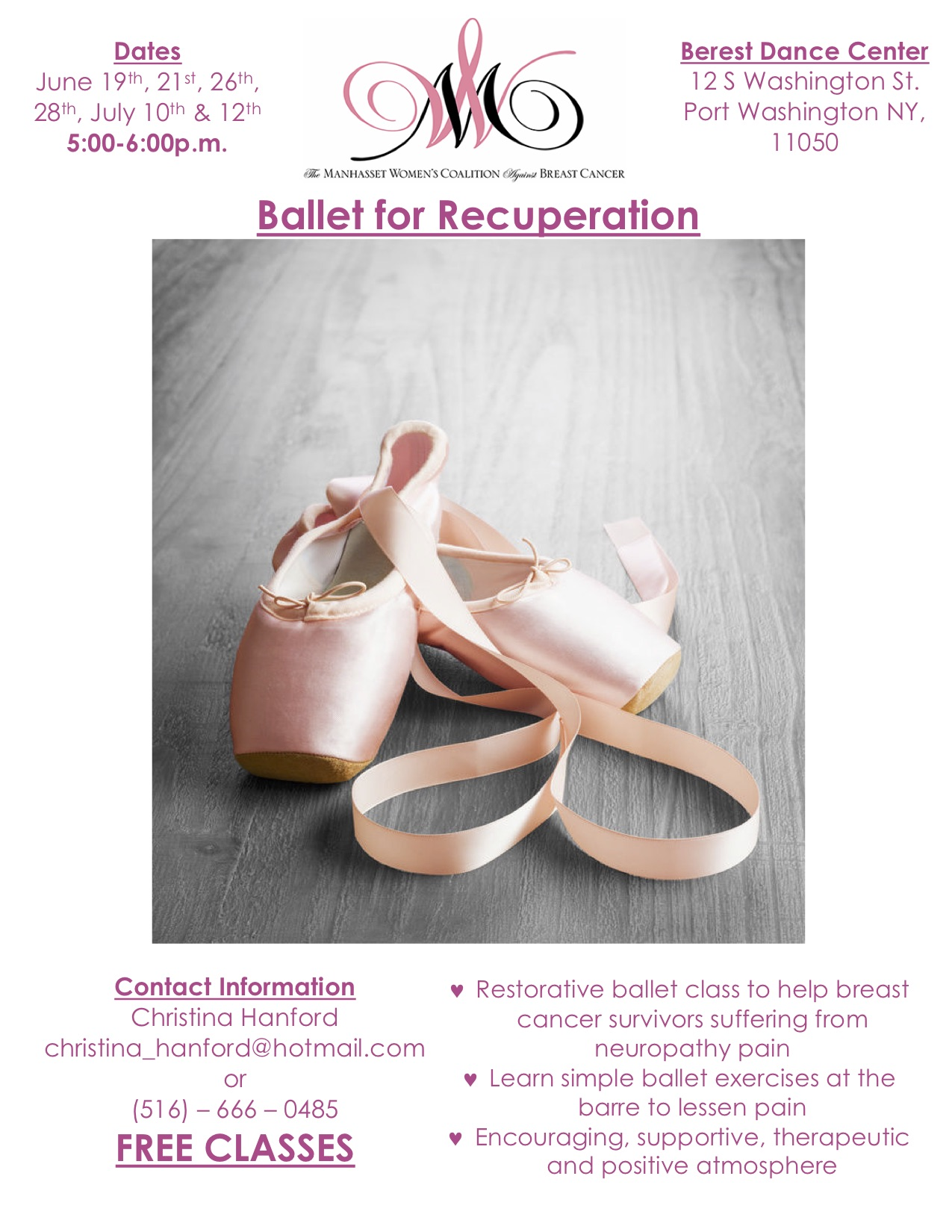 Ballet for Recuperation