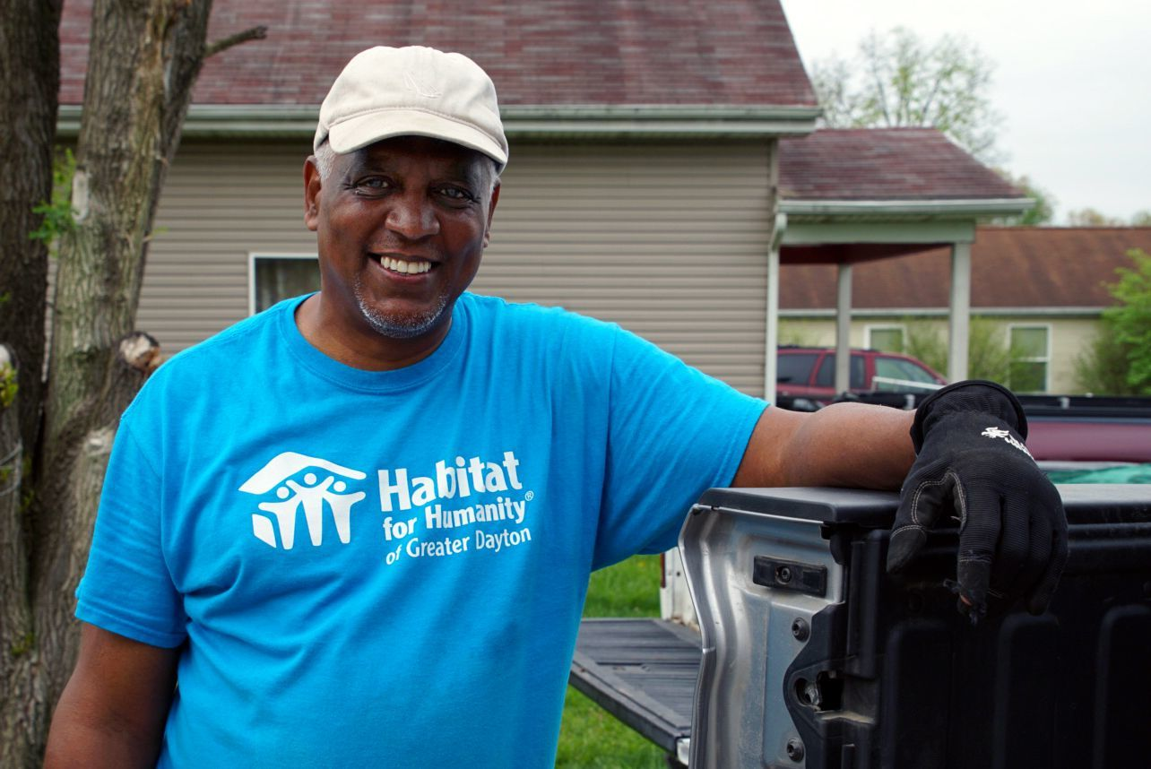 Galen Curry is in the field coordinating Habitat for Humanity of Greater Dayton's Critical Repair Program