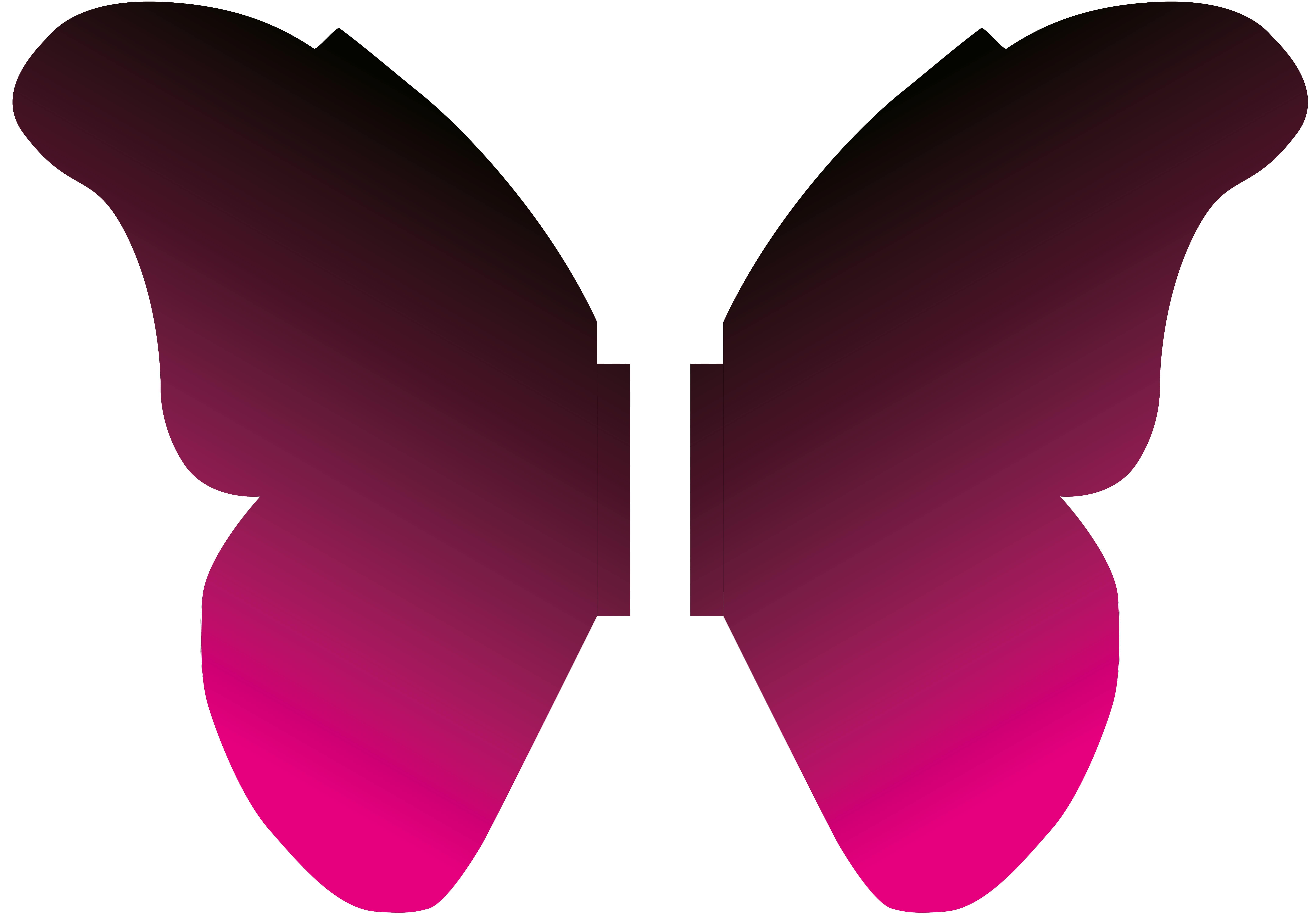 7' Butterfly Wings