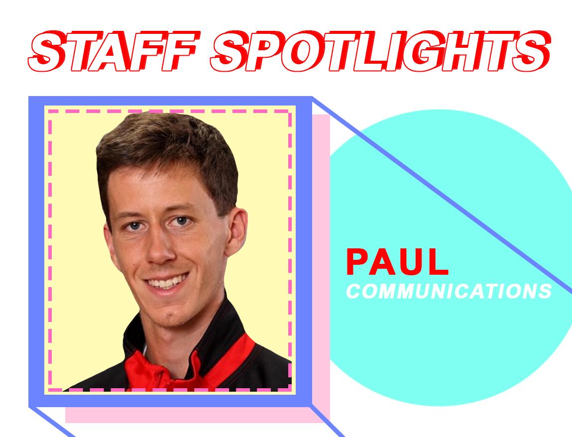 Staff Spotlight: Paul Steeno