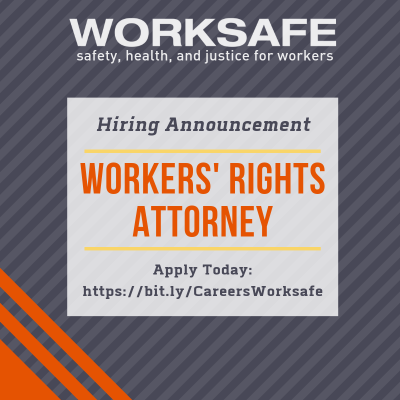 Job Alert: Workers' Rights Attorney (SoCal)