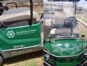 Augusta Canal Golf Cart