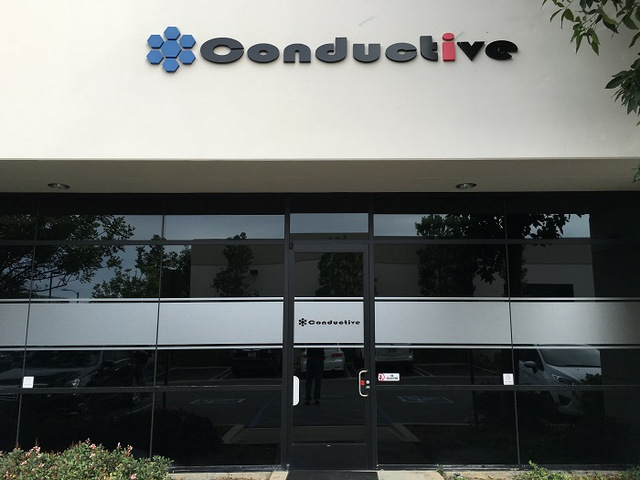 Etched vinyl window graphics for businesses in Orange County
