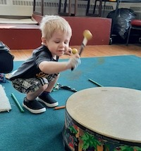 Toddlers Makin' Music | Fall 2021 B: Oct. 21-Nov. 11 | Ages 24-35 mos.