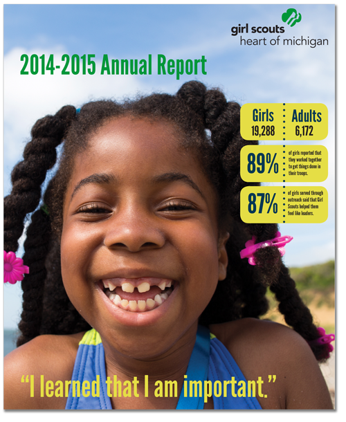 girl scouts heart of michigan annual report