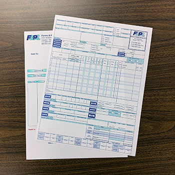 Laser & Cut Sheet Forms