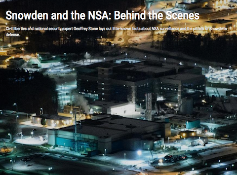 Snowden and the NSA: Behind the Scenes