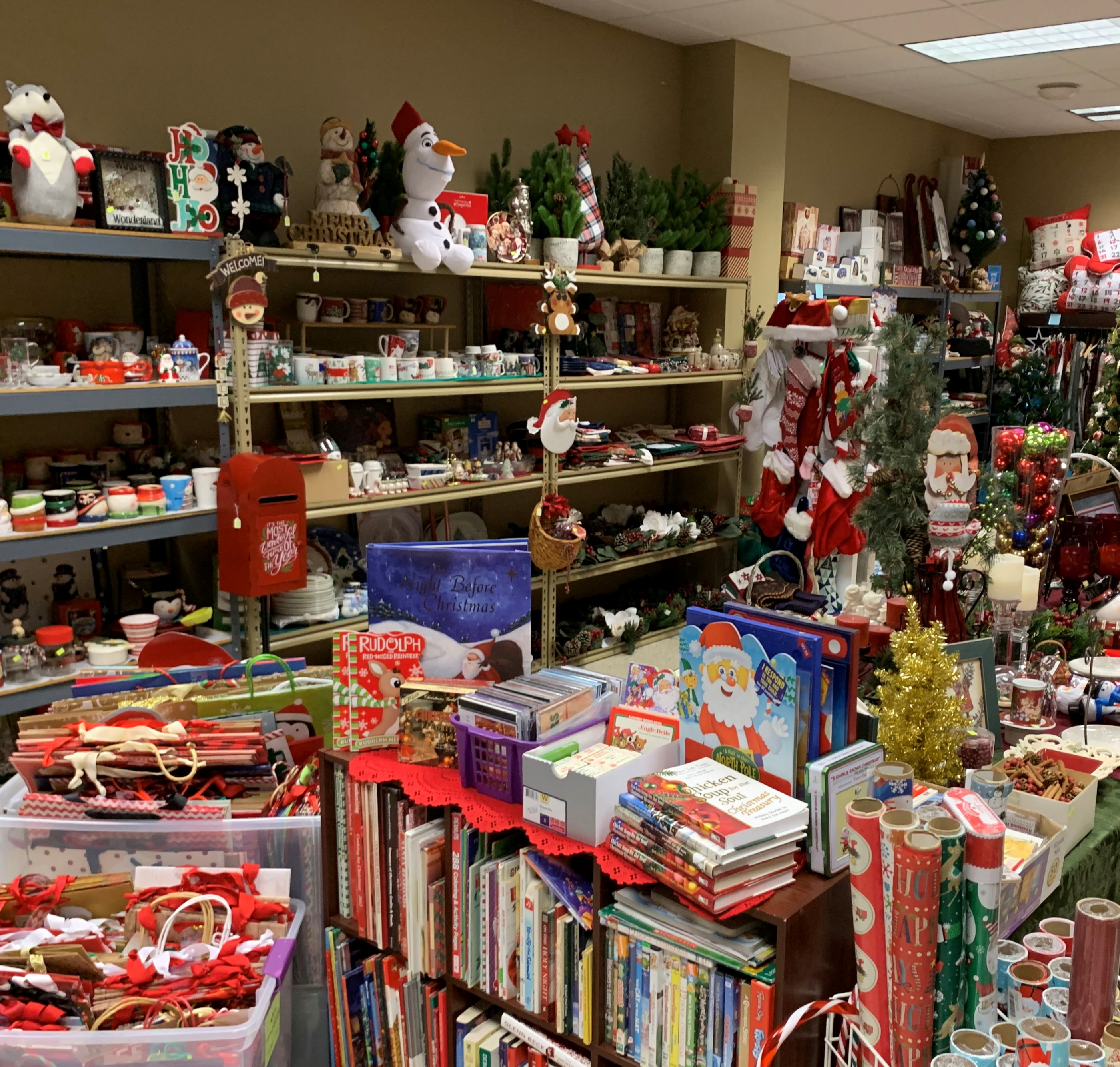 Christmas in July at Rivertown Treasures
