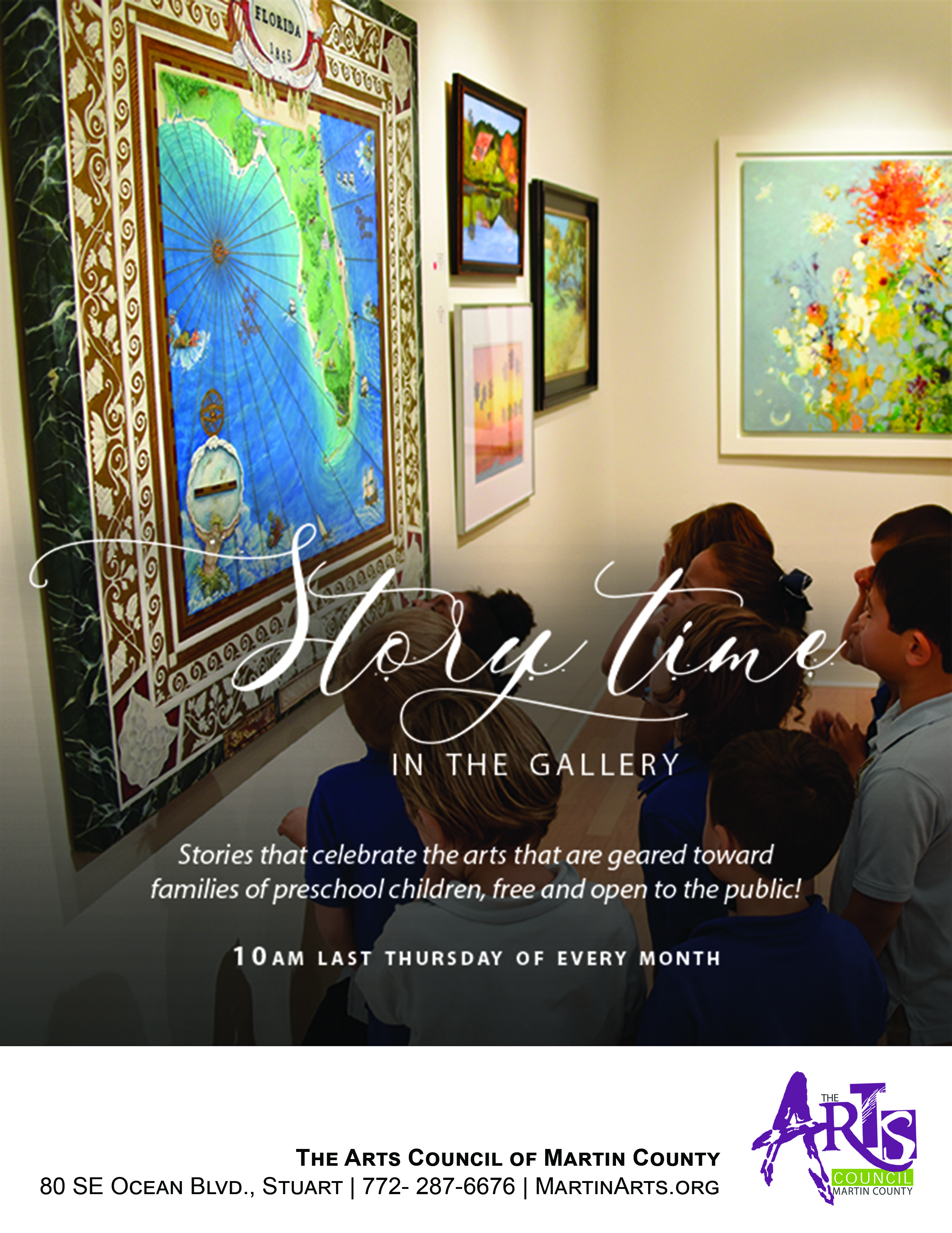 Story Time in the Gallery