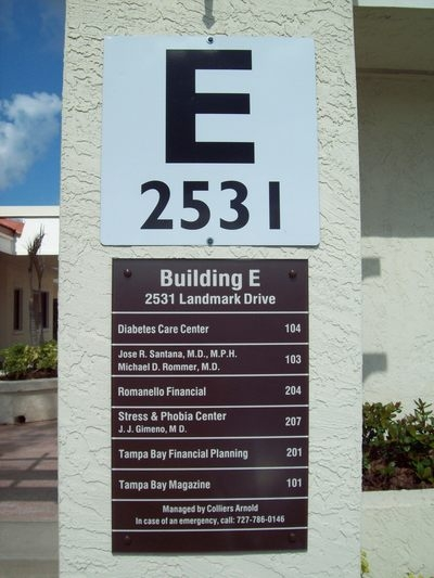 Exterior Architectural Signage Building Signs 48D Letters Post Beauteous Exterior Signage Design Plans