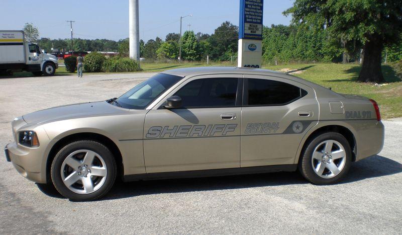Sheriff's Car- Gold