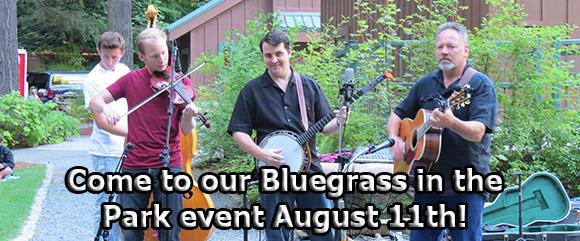 Bluegrass in the Park 2016 spotlight