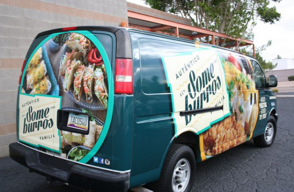 Van Wraps For Restaurants In Gilbert Az