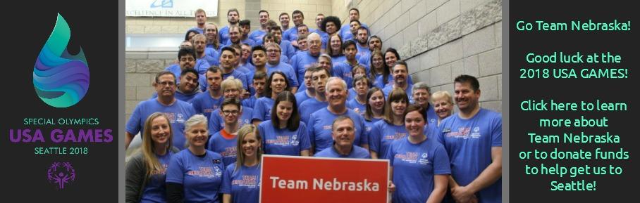 Team Nebraska 2018 USA Games