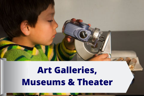 Art Galleries, Museums & Theaters