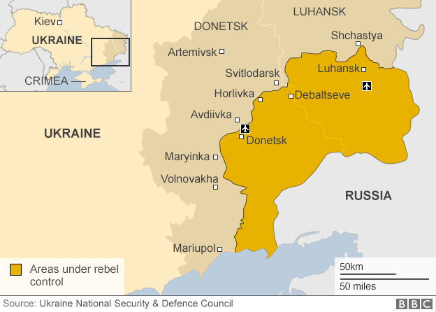 East Ukraine ceasefire due to take effect