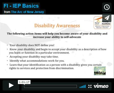 IEP Basics