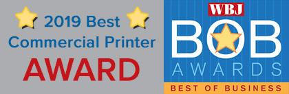 2018 Best Commercial Printer Award