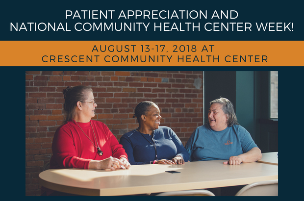 Patient Appreciation and National Community Health Center Week!