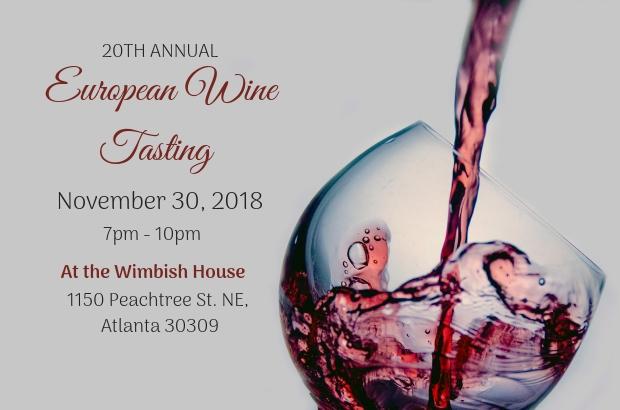 20th Annual European Wine Tasting