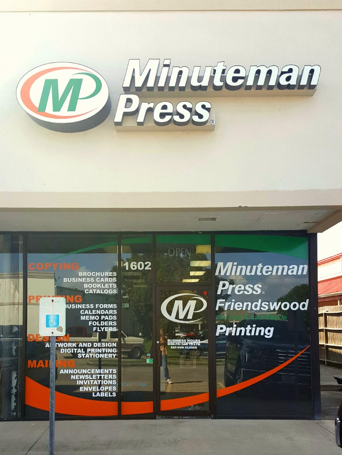 Minuteman Press - Friendswood