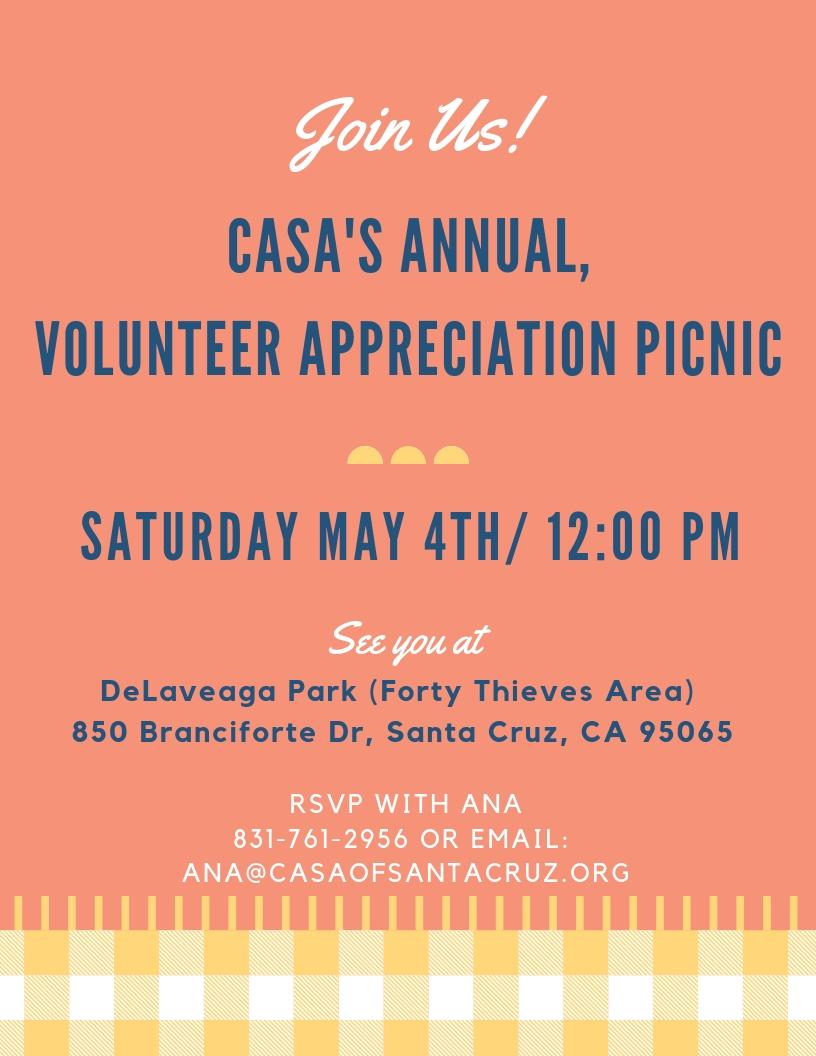 Volunteer Appreciation Picnic - 2019