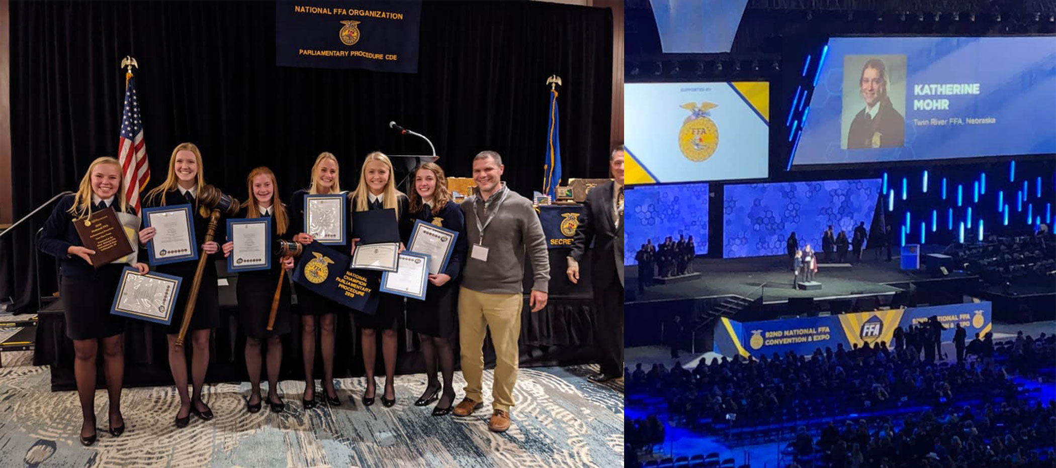 Nebraska FFA Celebrates Success at National FFA Convention