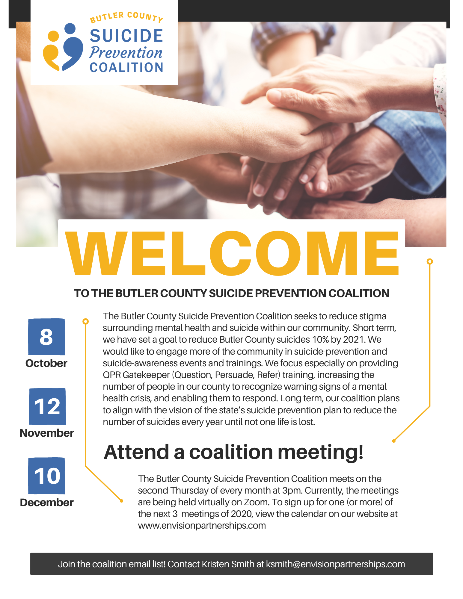 Butler County Suicide Prevention Coalition Meeting