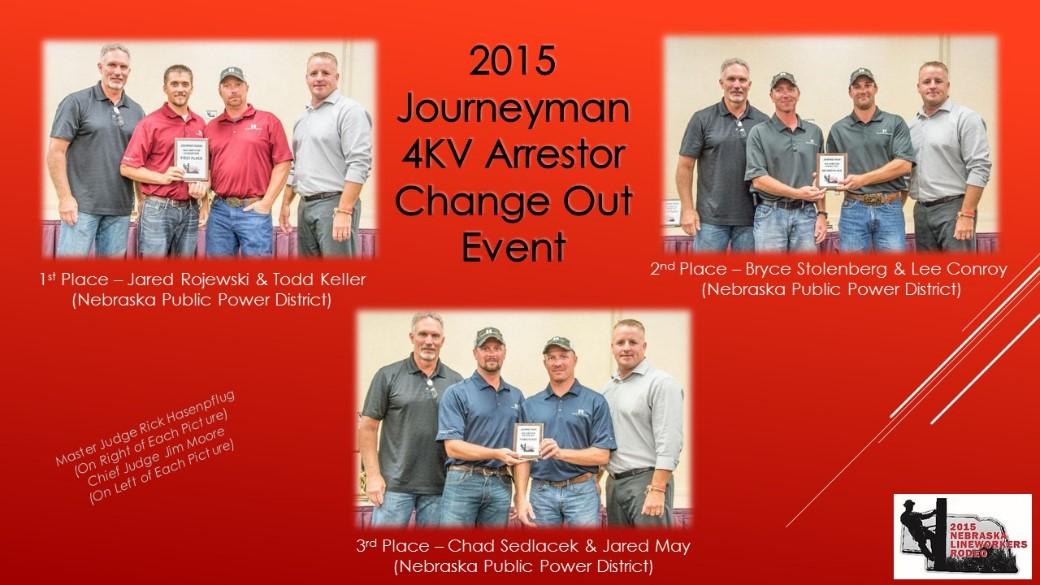2015 Journeyman 4KV Arrestor Change Out