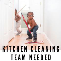 """Volunteer """"Clean Team"""" Needed"""