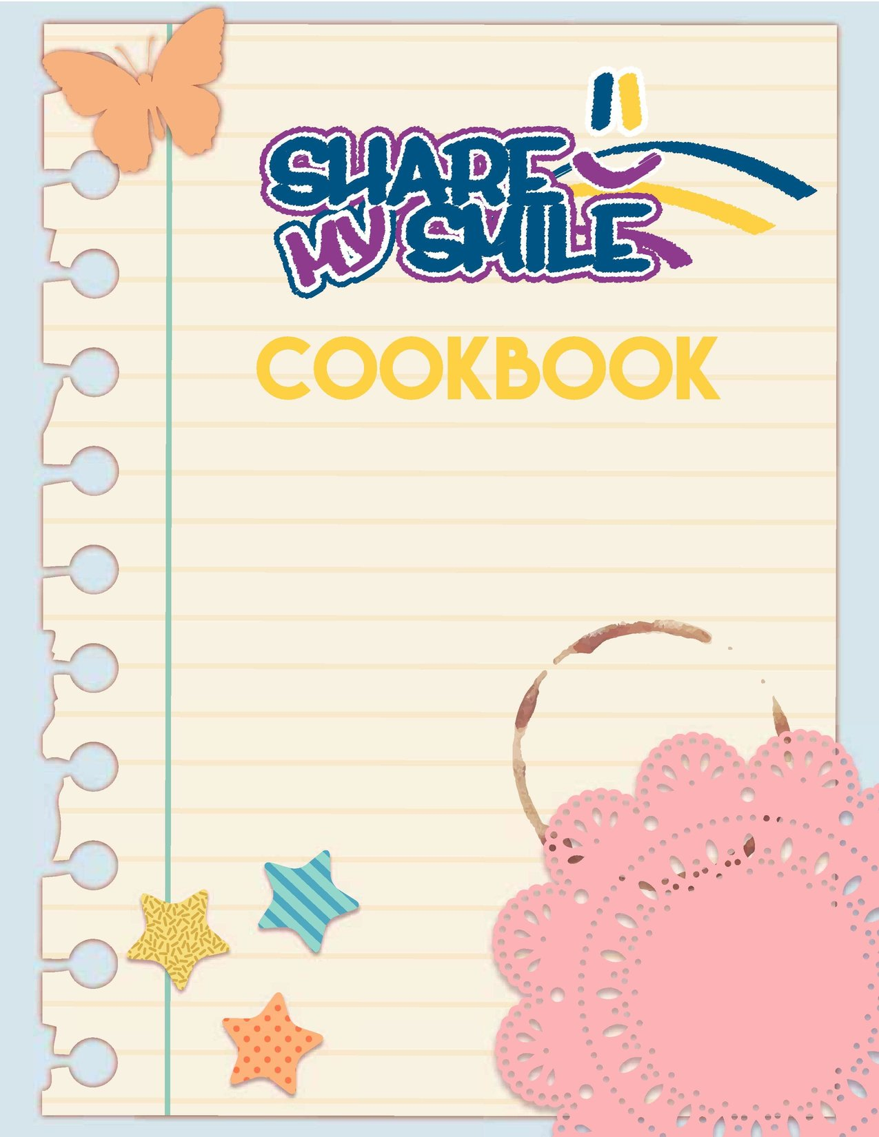 Order Your Share My Smile Cookbook Today to Support Foster & Adoptive Youth & Families!