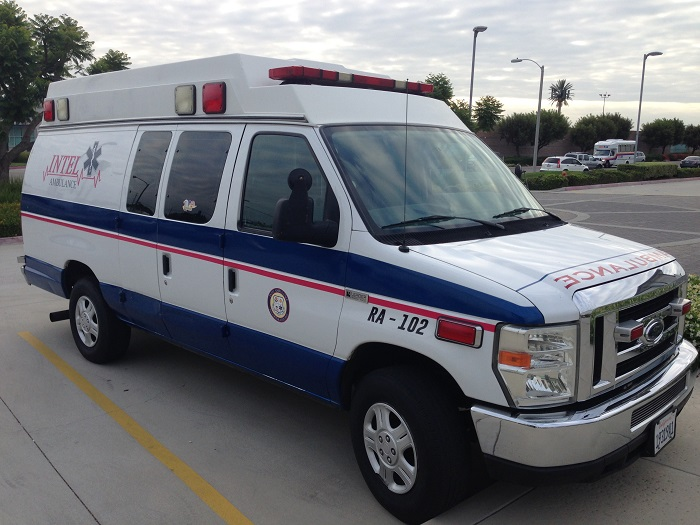 Vinyl graphics for Ambulances in Orange County