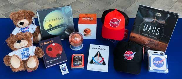 Mars Collection Merchandise