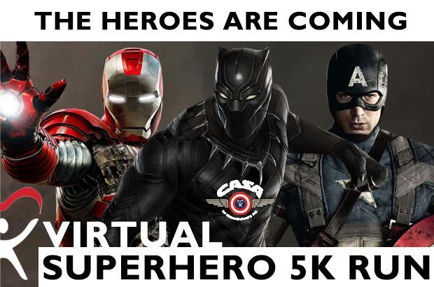 2021 VIRTUAL Superhero Run extended through May 15