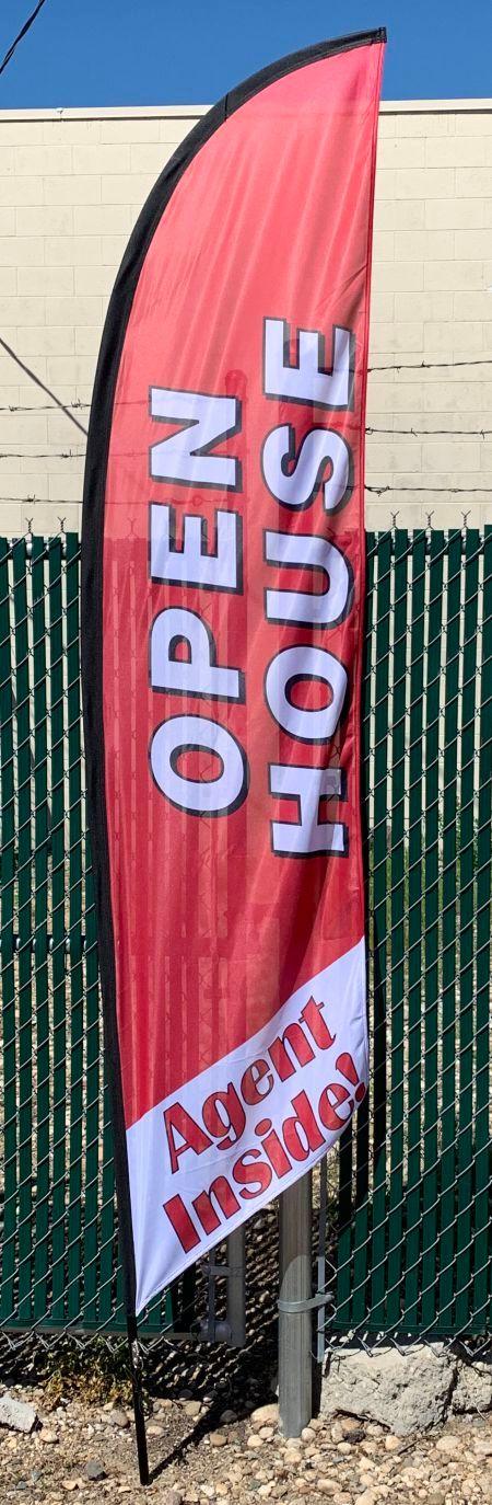 10ft Open House Flag
