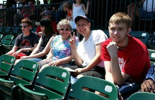 CASA day at the ballpark