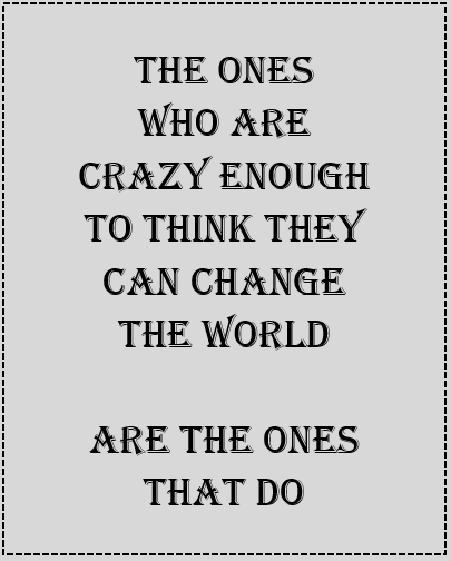 Change the world image