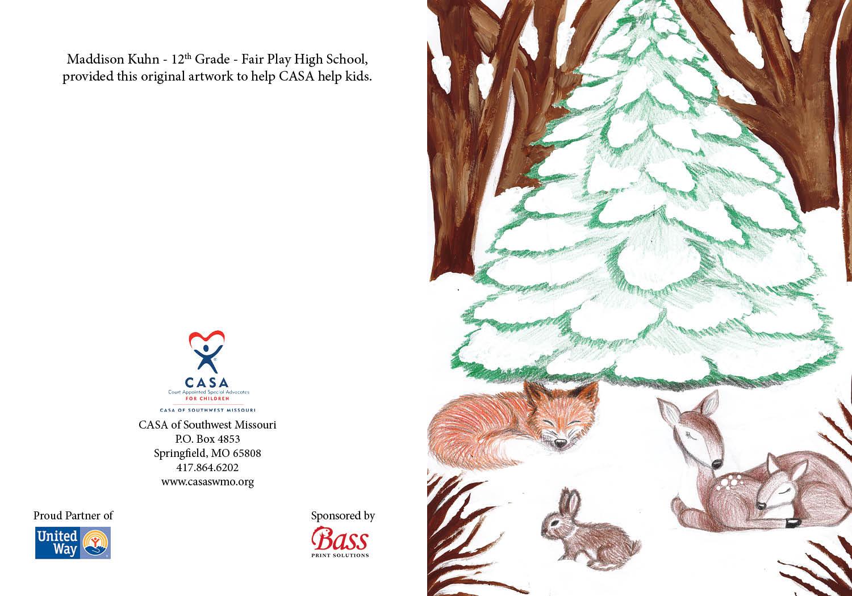 17 - Forest Tree -Maddison Kuhn - 12th Grade - Fair Play High School