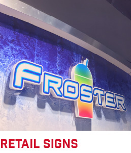 Retail Signs