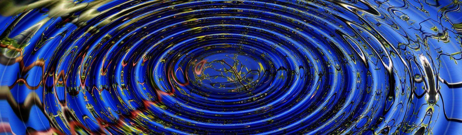 A ripple in still water