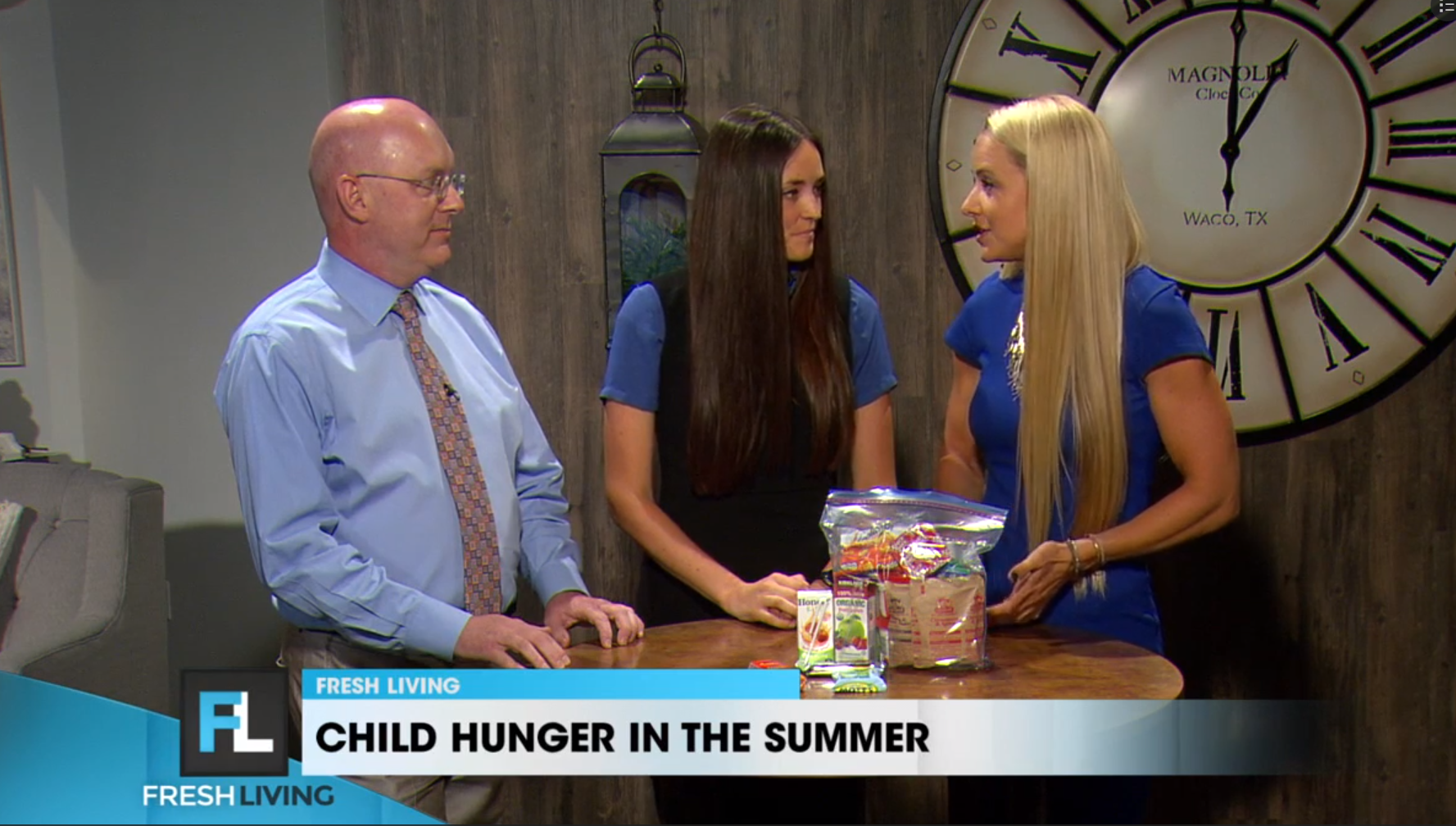 KUTV 2 Fresh Living: Child Hunger During Summer Months