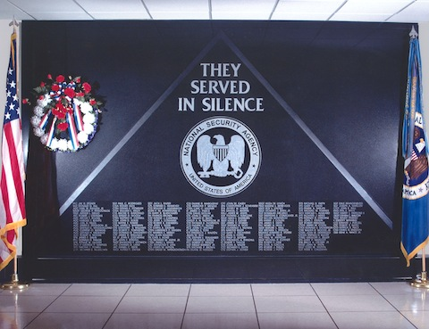 1996: Memorial Wall in OPS2B (at NSA) was dedicated.