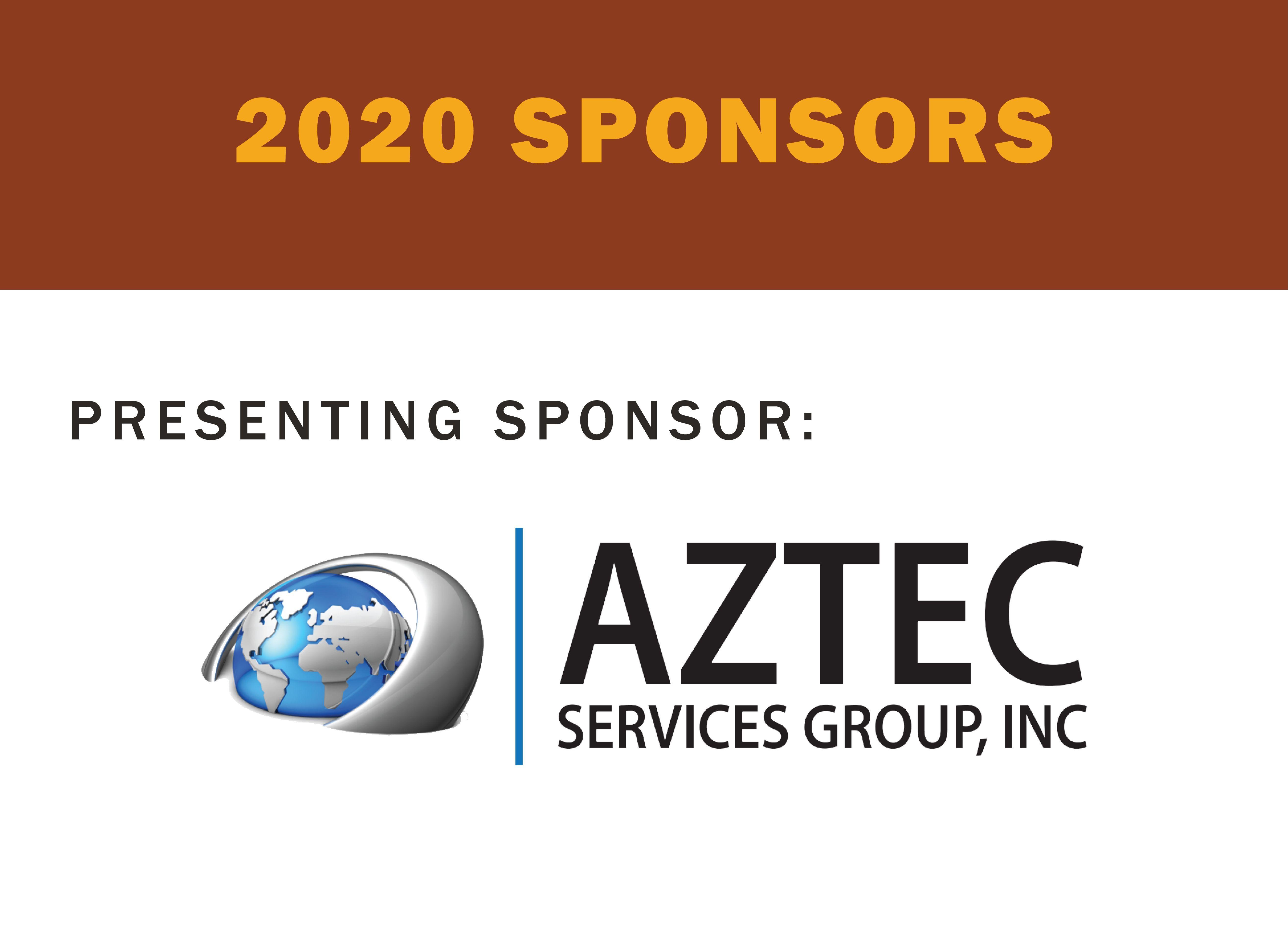 2020 Presenting Sponsor: Aztec Services