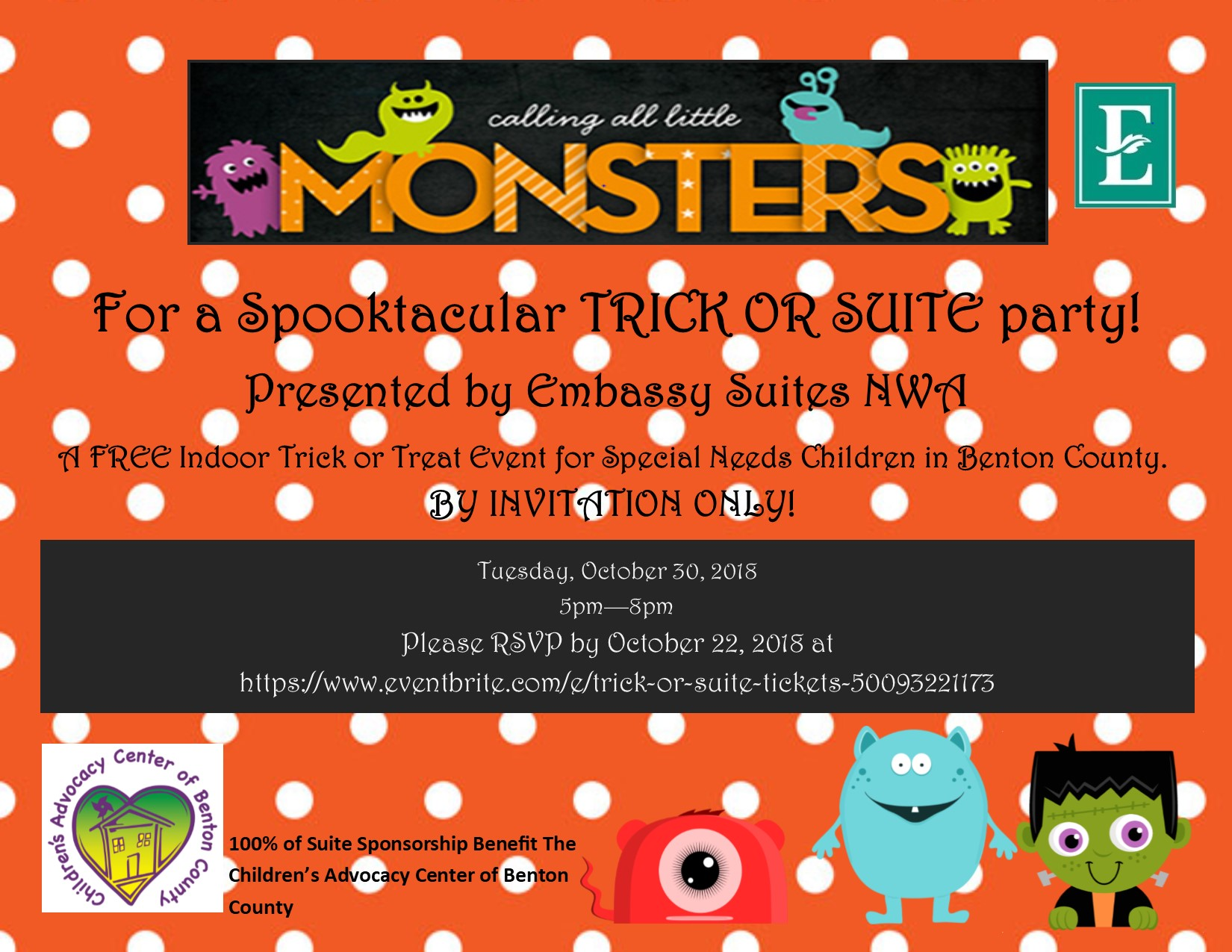 Spooktacular Trick or Suite Party