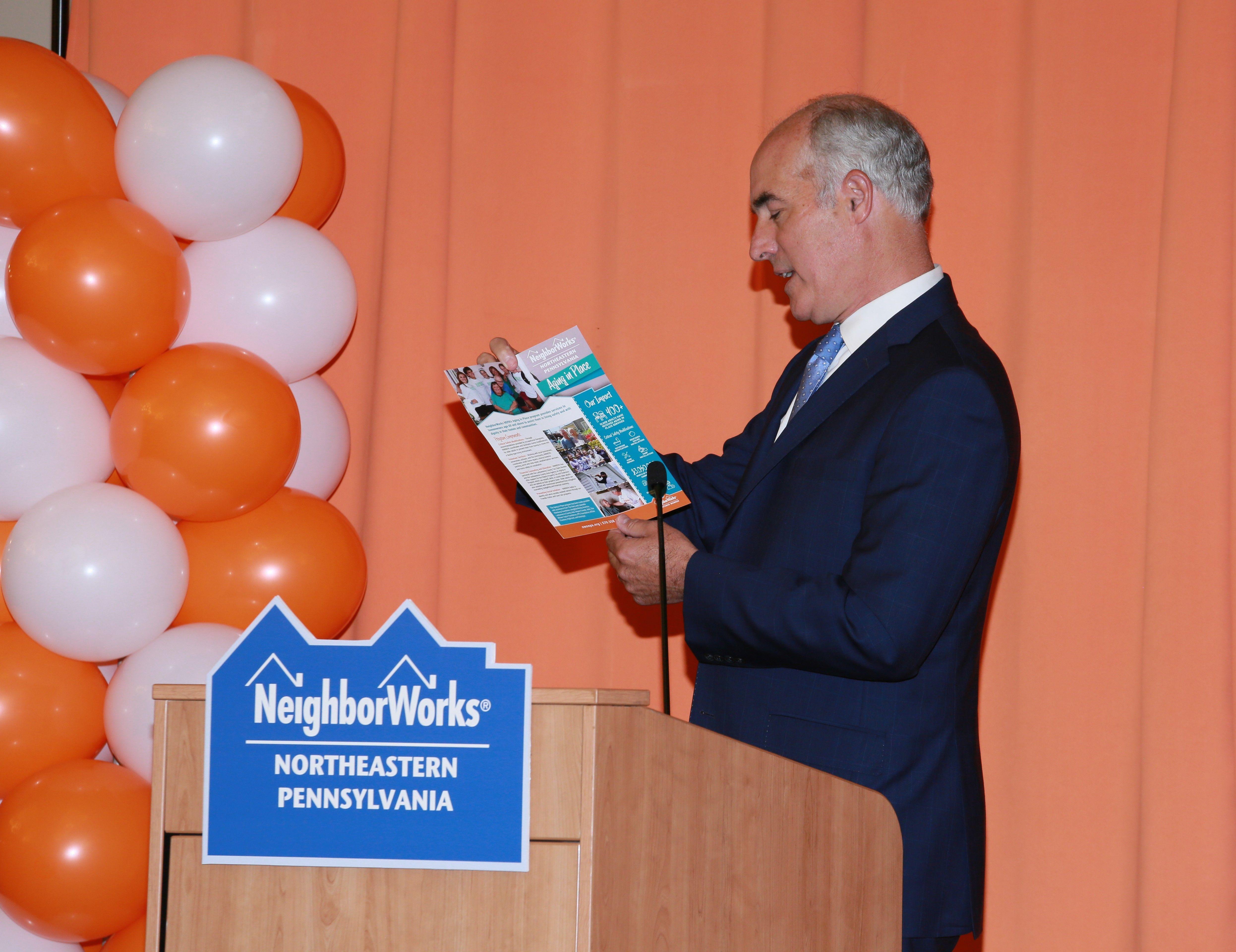 NeighborWorks NEPA, Senator Casey Announce $1  Million HUD Grant for Aging in Place Services