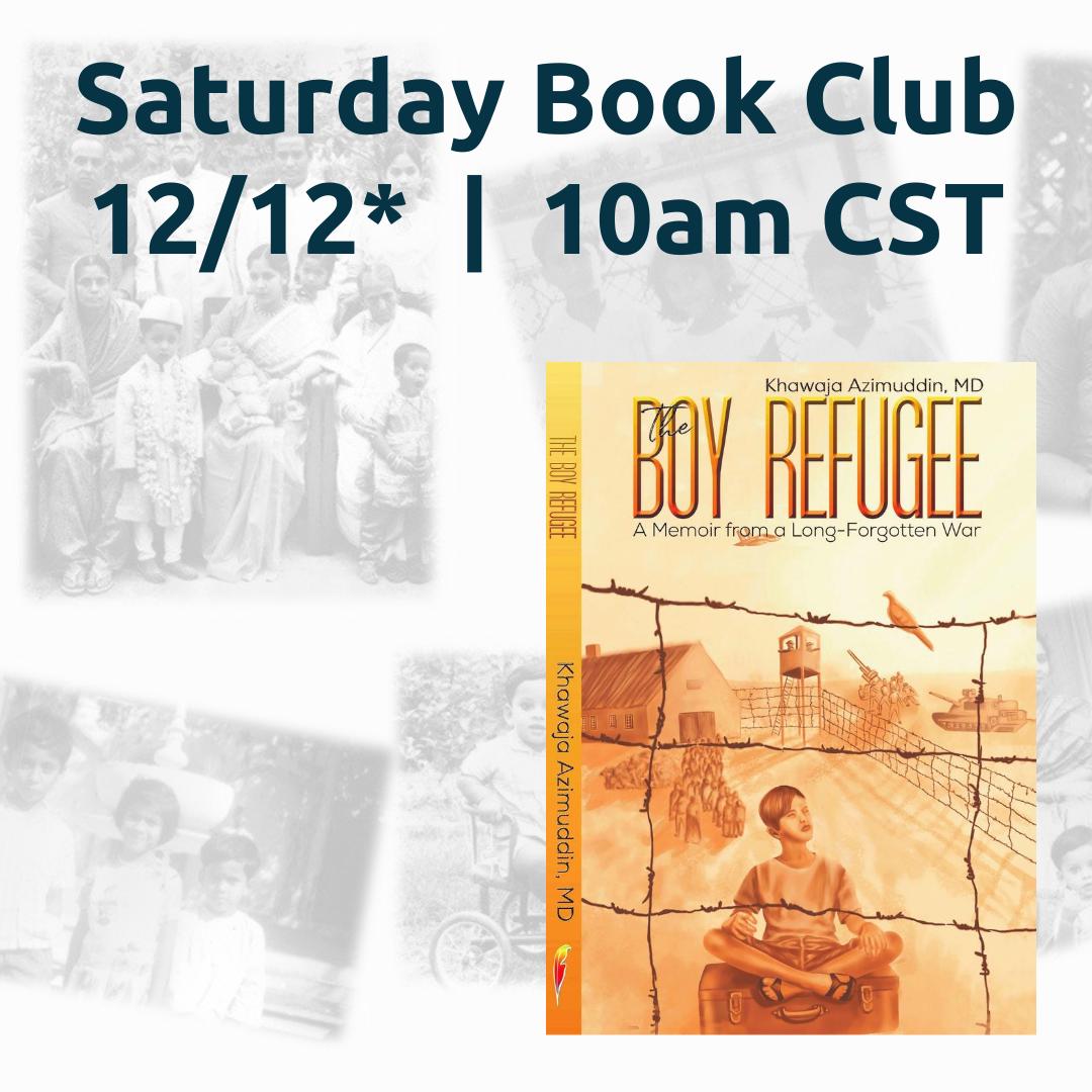 RST's Virtual Saturday Book Club: The Boy Refugee
