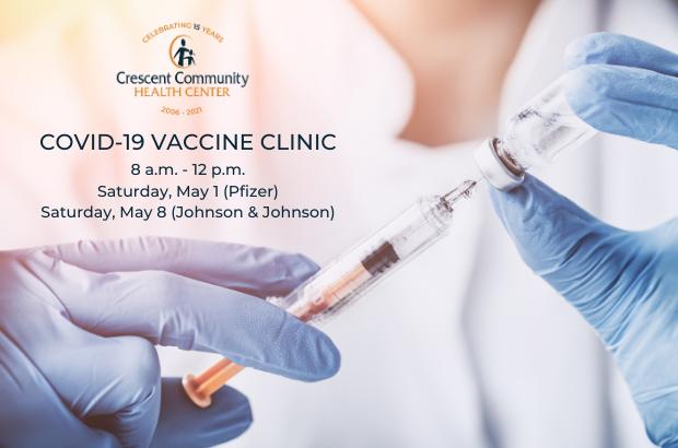 Drive-through/walk-up COVID Vaccine Clinic
