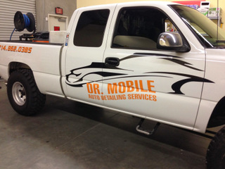 Orange County truck graphics for fleets